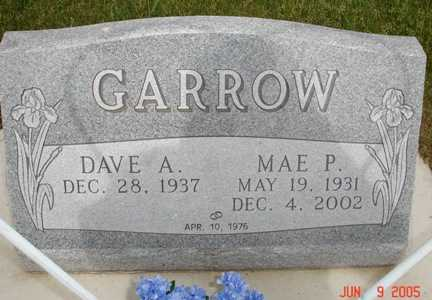 GARROW, DAVE A. - Clinton County, Iowa | DAVE A. GARROW