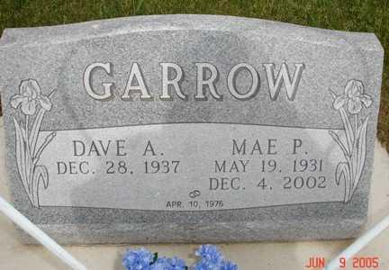 GARROW, MAE P. - Clinton County, Iowa | MAE P. GARROW