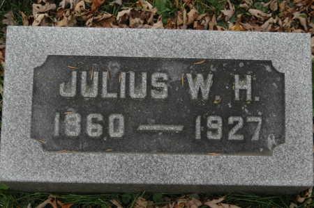 GATHE, JULIUS W H - Clinton County, Iowa   JULIUS W H GATHE