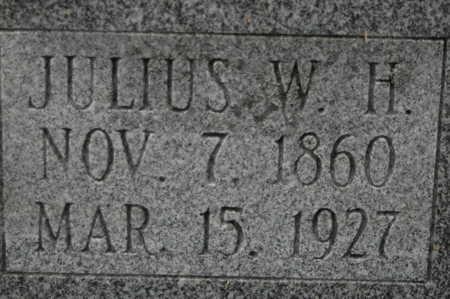 GATHE, JULIUS W H - Clinton County, Iowa | JULIUS W H GATHE