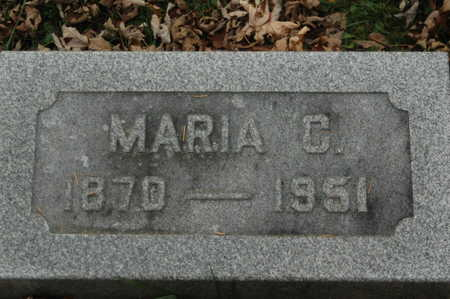 GATHE, MARIA C. - Clinton County, Iowa | MARIA C. GATHE