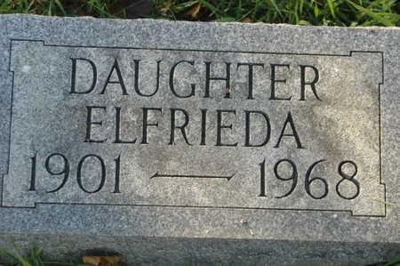 GEHLSEN, ELFRIEDA - Clinton County, Iowa | ELFRIEDA GEHLSEN