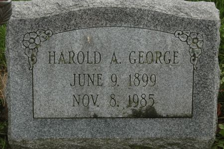 GEORGE, HAROLD A. - Clinton County, Iowa | HAROLD A. GEORGE
