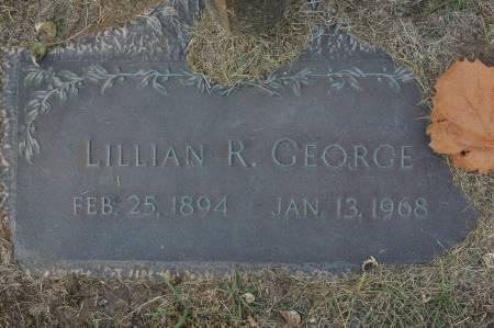GEORGE, LILLIAN R. - Clinton County, Iowa   LILLIAN R. GEORGE