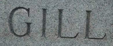 GILL, FAMILY MONUMENT - Clinton County, Iowa   FAMILY MONUMENT GILL