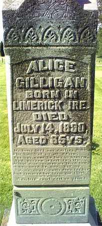 GILLIGAN, ALICE - Clinton County, Iowa | ALICE GILLIGAN
