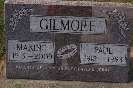 GILMORE, MAXINE - Clinton County, Iowa | MAXINE GILMORE