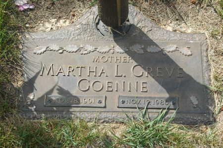 GREVE GOENNE, MARTHA L. - Clinton County, Iowa   MARTHA L. GREVE GOENNE