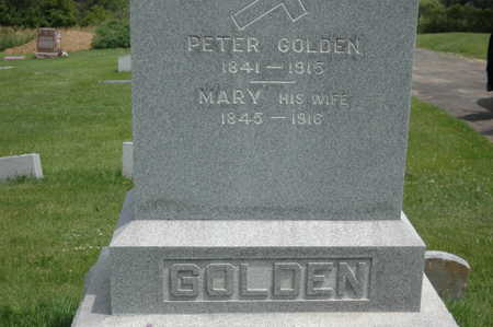 GOLDEN, PETER - Clinton County, Iowa | PETER GOLDEN