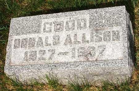 GOOD, DONALD ALLISON - Clinton County, Iowa | DONALD ALLISON GOOD