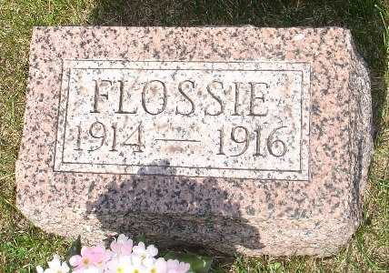 GOODELL, FLOSSIE - Clinton County, Iowa   FLOSSIE GOODELL