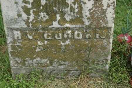 GORDON, H V - Clinton County, Iowa   H V GORDON