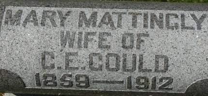 MATTINGLY GOULD, MARY - Clinton County, Iowa | MARY MATTINGLY GOULD