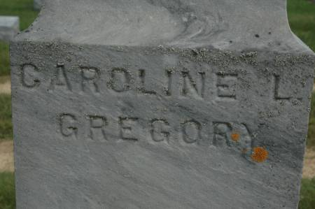 GREGORY, CAROLINE L. - Clinton County, Iowa | CAROLINE L. GREGORY