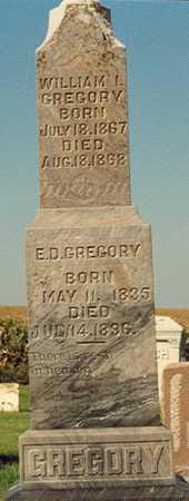 GREGORY, ELIAS D. - Clinton County, Iowa | ELIAS D. GREGORY