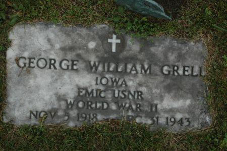 GRELL, GEORGE WILLIAM - Clinton County, Iowa   GEORGE WILLIAM GRELL