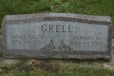 GRELL, GRACE - Clinton County, Iowa   GRACE GRELL