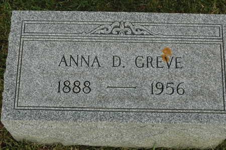GREVE, ANNA D. - Clinton County, Iowa | ANNA D. GREVE