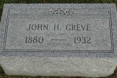 GREVE, JOHN H. - Clinton County, Iowa   JOHN H. GREVE