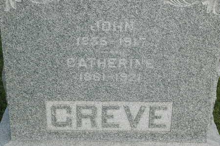 GREVE, CATHERINE - Clinton County, Iowa | CATHERINE GREVE