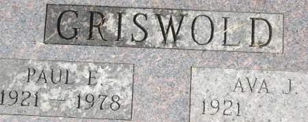 GRISWOLD, PAUL E. - Clinton County, Iowa | PAUL E. GRISWOLD