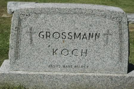 GROSSMANN - KOCH, FAMILY MONUMENT - Clinton County, Iowa   FAMILY MONUMENT GROSSMANN - KOCH