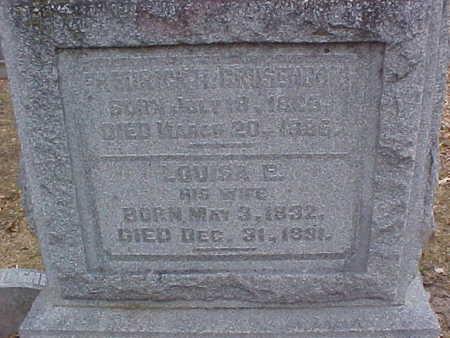 GRUSENDORF, LOUISA - Clinton County, Iowa | LOUISA GRUSENDORF