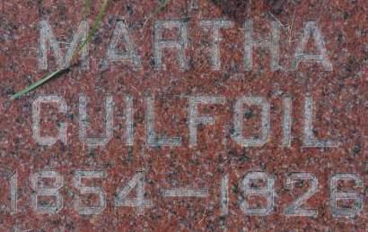 GUILFOIL, MARTHA - Clinton County, Iowa | MARTHA GUILFOIL