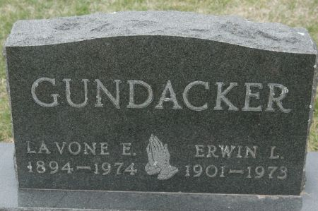 GUNDACKER, ERWIN L. - Clinton County, Iowa   ERWIN L. GUNDACKER
