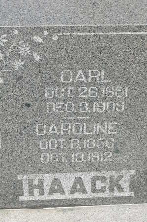 HAACK, CAROLINE - Clinton County, Iowa | CAROLINE HAACK