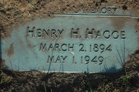 HAGGE, HENRY H. - Clinton County, Iowa   HENRY H. HAGGE