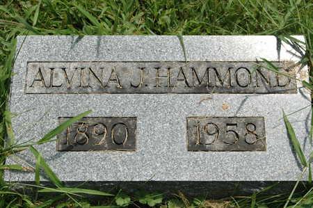 HAMMOND, ALVINA J. - Clinton County, Iowa | ALVINA J. HAMMOND