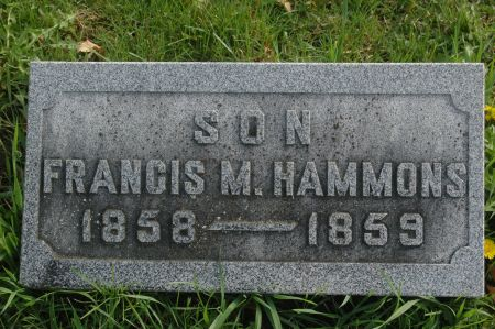 HAMMONS, FRANCIS M. - Clinton County, Iowa | FRANCIS M. HAMMONS