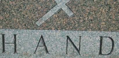 HAND, FAMILY MONUMENT - Clinton County, Iowa | FAMILY MONUMENT HAND