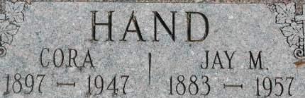 HAND, JAY M. - Clinton County, Iowa | JAY M. HAND