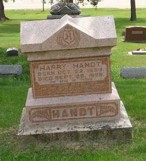 HANDT, HARRY - Clinton County, Iowa | HARRY HANDT