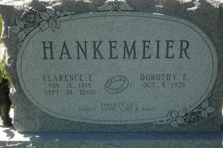 HANKEMEIER, DOROTHY E. - Clinton County, Iowa | DOROTHY E. HANKEMEIER