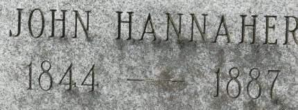 HANNAHER, JOHN - Clinton County, Iowa | JOHN HANNAHER