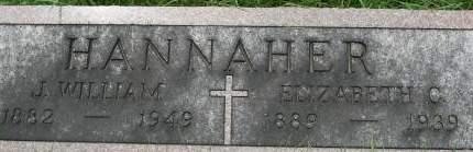 HANNAHER, ELIZABETH C. - Clinton County, Iowa | ELIZABETH C. HANNAHER