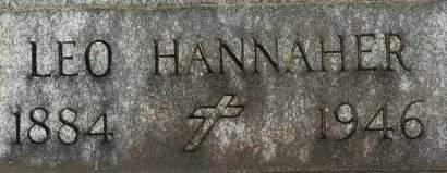 HANNAHER, LEO - Clinton County, Iowa | LEO HANNAHER