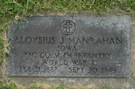 HANRAHAN, ALOYSIUS J. - Clinton County, Iowa | ALOYSIUS J. HANRAHAN