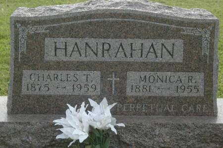 HANRAHAN, CHARLES T. - Clinton County, Iowa   CHARLES T. HANRAHAN