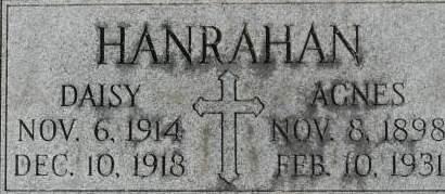 HANRAHAN, DAISY - Clinton County, Iowa | DAISY HANRAHAN