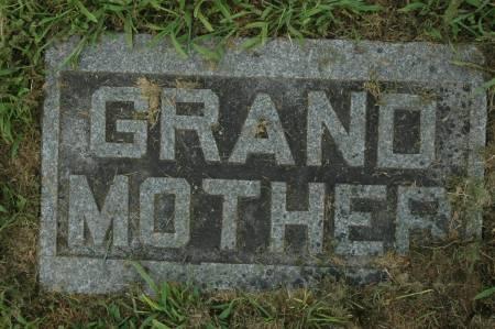 HANRAHAN, GRANDMOTHER - Clinton County, Iowa | GRANDMOTHER HANRAHAN