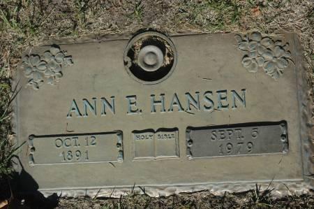HANSEN, ANN E. - Clinton County, Iowa | ANN E. HANSEN