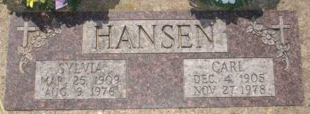 HANSEN, CARL - Clinton County, Iowa   CARL HANSEN