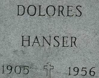 HANSER, DOLORES - Clinton County, Iowa | DOLORES HANSER