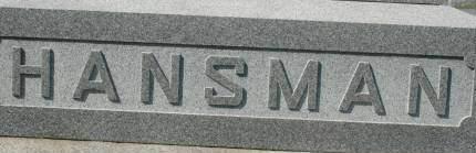 HANSMAN, FAMILY MONUMENT - Clinton County, Iowa | FAMILY MONUMENT HANSMAN
