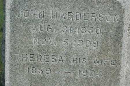 HARDERSON, JOHN - Clinton County, Iowa | JOHN HARDERSON