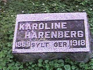 HARENBERG, KAROLINE - Clinton County, Iowa   KAROLINE HARENBERG